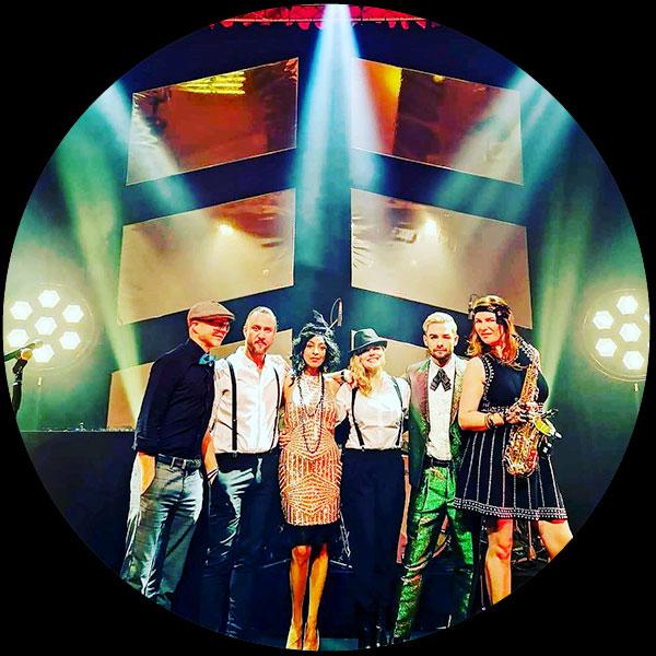 Soundshine Entertainment Kuenstler Mottoband 01