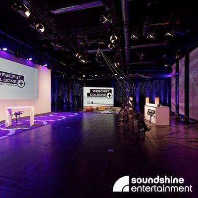 TV Studio Köln portcast Event Studio Paladium